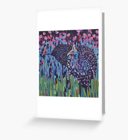 Two Guineas Greeting Card