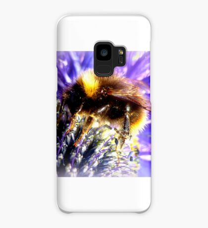 Bumblebee on Thistle Case/Skin for Samsung Galaxy