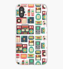 RETRO TECHNOLOGY 1.0 iPhone Case/Skin