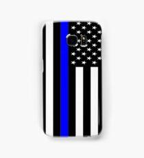 Police Flag Samsung Galaxy Case/Skin