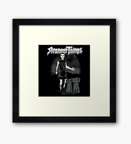 Goes to 011 Framed Print