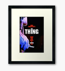 THE THING 14 Framed Print