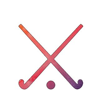 Feldhockey-Mehrfarbig von hcohen2000