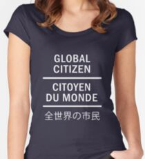 Global Citizen Women's Fitted Scoop T-Shirt