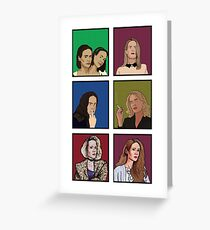 The Best Of Sarah Paulson Greeting Card
