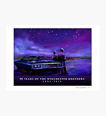 Impala Nights Photographic Print