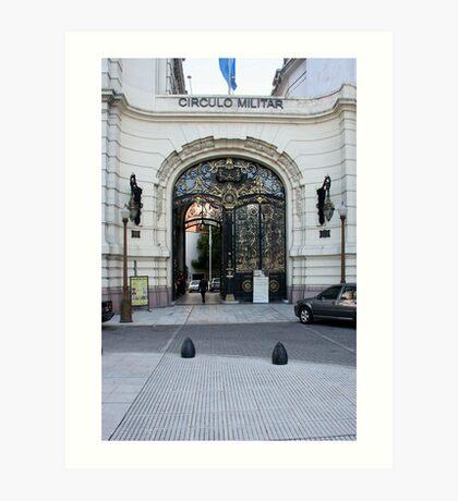 Circulo Militar, Buenos Aires Art Print