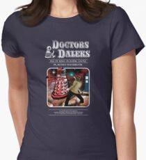 Doctors & Daleks Women's Fitted T-Shirt