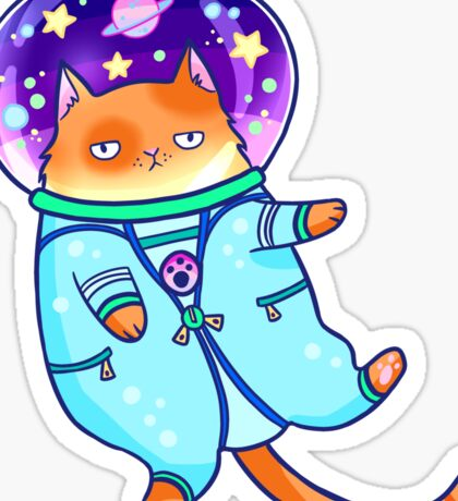 Cosmocat Sticker