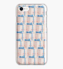 Solid Mendl's Boxes iPhone Case/Skin