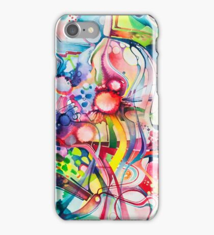 Nice Clowns You Got There - Watercolor Painting iPhone Case/Skin