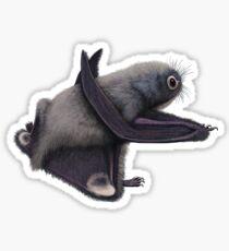 Anurognathus, the tiny pterosaur Sticker