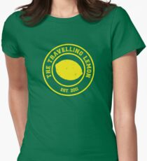 The Travelling Lemon est. 2011 Womens Fitted T-Shirt
