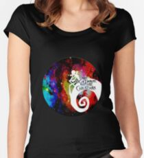 Jack Nightmare Before Christmas Moon Women's Fitted Scoop T-Shirt