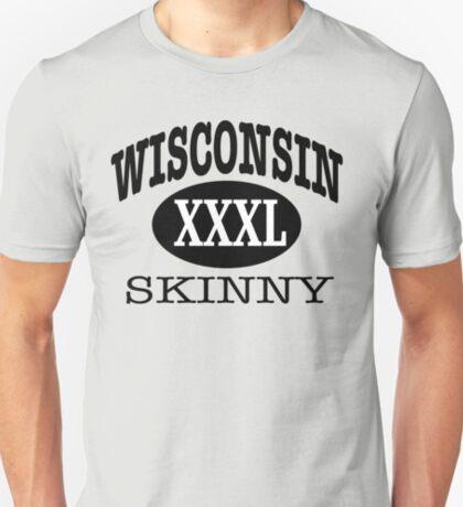 Wisconsin Skinny XXXL Athletic T-Shirt