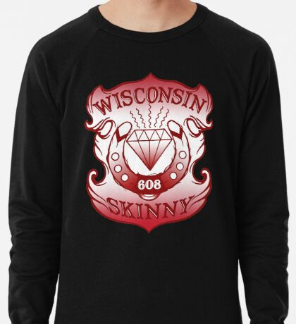 Wisconsin Skinny Shield Lightweight Sweatshirt