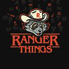 Raccoon Ranger and his Camping Things by Mattgyver
