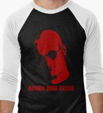 Natural Born Killers - Mickey Knox - Red Men's Baseball ¾ T-Shirt
