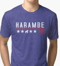 Harambe for President 2016 Tri-blend T-Shirt
