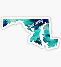 Silver Spring Sticker