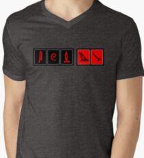 LOST Hieroglyphics (Updated) Men's V-Neck T-Shirt
