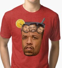 Ice Tea & Ice Cubes Tri-blend T-Shirt