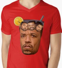 Just Some Ice Tea and Ice Cubes Men's V-Neck T-Shirt