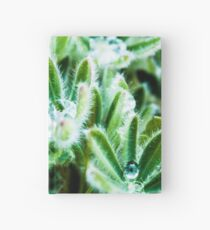Lupine Leaves Photography Print Hardcover Journal