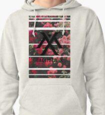 Sudadera con capucha Monsta X: Logotipo estético