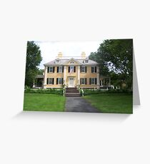 Longfellow House Greeting Card