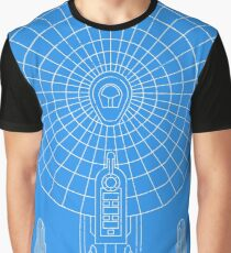 Star Trek - Faux Enterprise Blueprint Graphic T-Shirt
