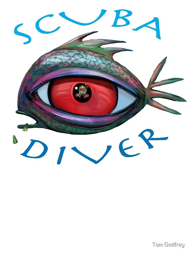 SCUBA Diver by Tom Godfrey
