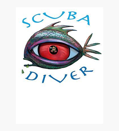 SCUBA Diver Photographic Print