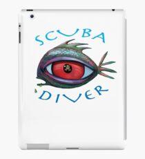 SCUBA Diver iPad Case/Skin