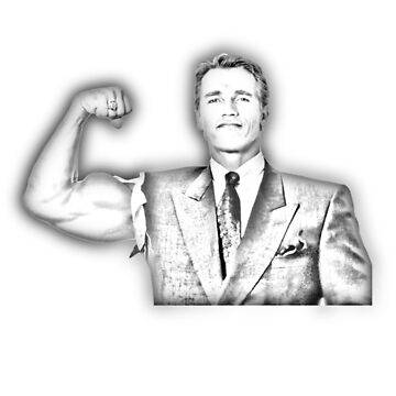 Arnold Schwarzenegger - Business (Sketch) by SpiderReviewer