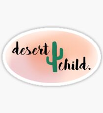 desert child. Sticker