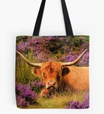 Highland and Heather Tote Bag