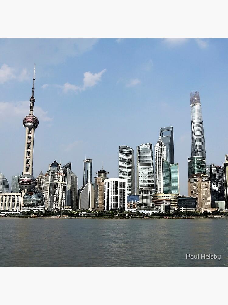 Horizonte de Shanghai de paulrhelsby