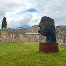 Ruins of Pompeii by Barbara  Brown
