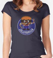 JOLLYBURGER Women's Fitted Scoop T-Shirt