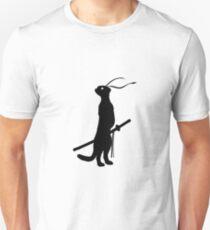 Ninja Meerkat Unisex T-Shirt