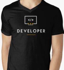Developer Men's V-Neck T-Shirt