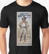 Performing Arts Posters George Pecks grand revival of Stetsons Uncle Toms cabin booked by Klaw Erlanger 0667 T-Shirt