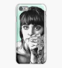 Gaze Illustartion iPhone Case/Skin