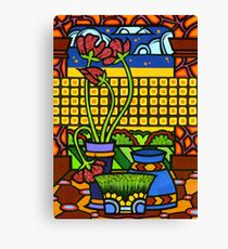 Still Life & Landscape 2 Canvas Print