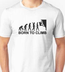 Evolution born to climbing Slim Fit T-Shirt