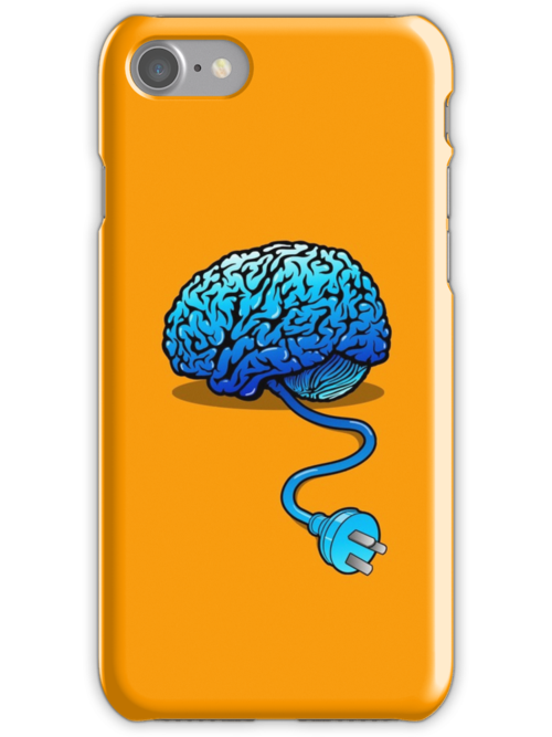 Your Brain without Coffee - Blue by R-evolution GFX