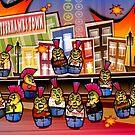 ButterHawks Matryoshkas by Viscious-Speed
