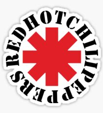 red hot rock Sticker
