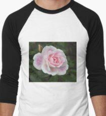 Blushing Pink Iceberg Men's Baseball ¾ T-Shirt
